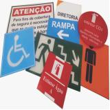 comunicação visual interna para empresa preço Itaim Paulista